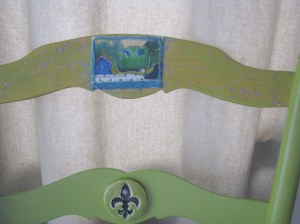 Mardi Gras Chair