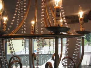 Close up of Chandelier