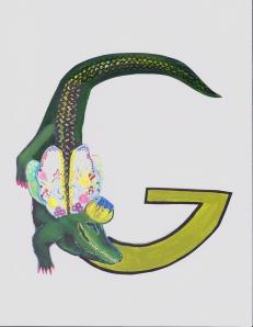"The beginning of ""G"""