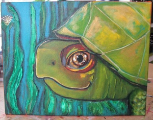 Turtle needs a frame.