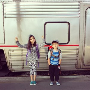Train to California