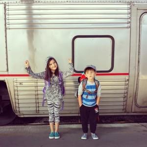 Train to California