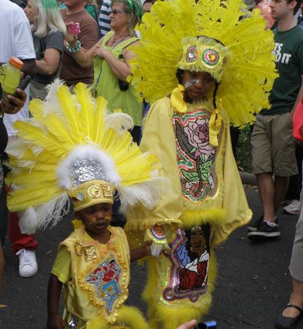 Mardi Gras Indian Children