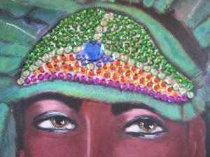 Sequined Headdress