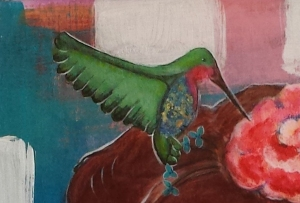 Distracted Hummingbird