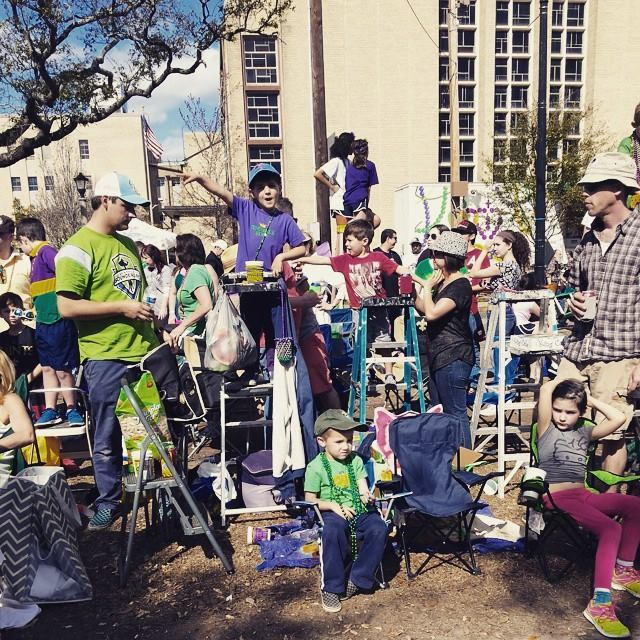 Our Mardi Gras Crew