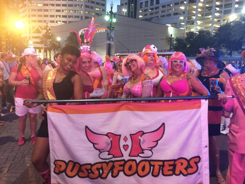 Pussyfooters at Festigal