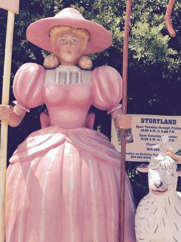 at Storyland