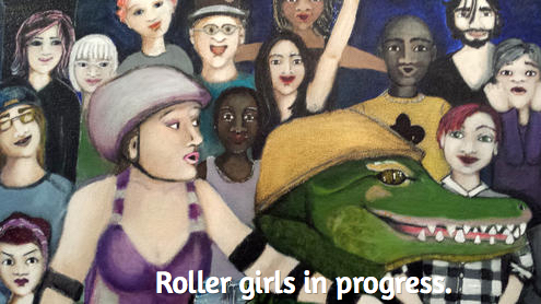 Rollergirls in progress